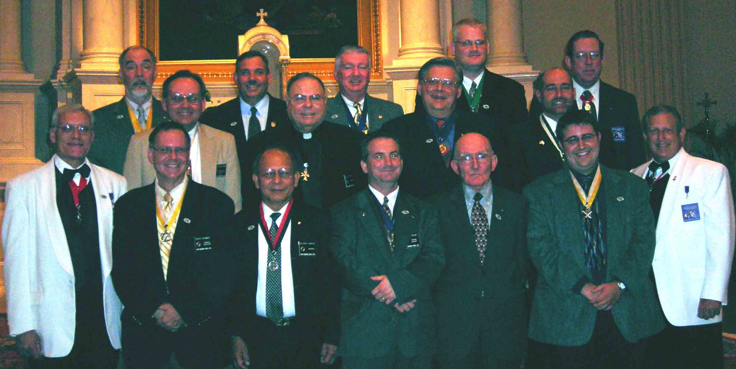 KofC Cncl 1622 Officers 2006-2007 Fraternal Year – Double click for close up